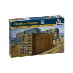 Italeri diorama - Vojenský kontejner 20 stop (1:35)