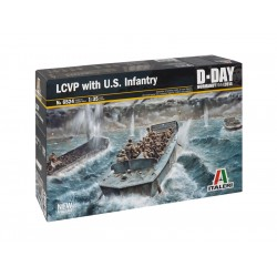 Italeri LCVP with US INFANTRY (1:35)