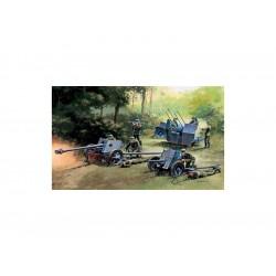 Italeri GERMAN GUNS SET: PAK35-PAK40-FLAK38 (1:72)
