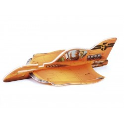 Vector Plane Rusty Carl