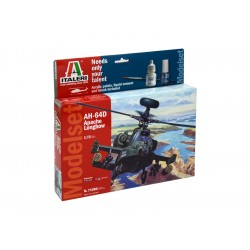 Italeri Model Set AH-64D Apache Longbow (1:72)