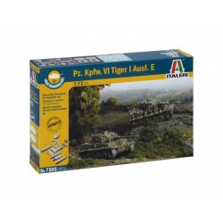 Italeri Easy Kit - Pz.Kpfw.VI TIGER I Ausf.E (1:72)