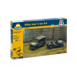 Italeri Easy Kit - 1/4 Ton 4x4 TRUCK (1:72)