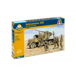 Italeri Easy Kit - Autocannon Ro3 with 90/53 AA gun (1:72)