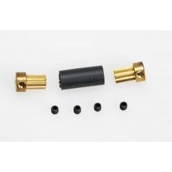 Flex-spojka 5mm pro průměr hřídele 1,5mm na 2,0mm
