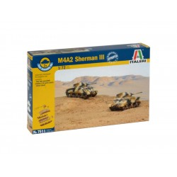 Italeri Easy Kit - M4A2 SHERMAN III (1:72)