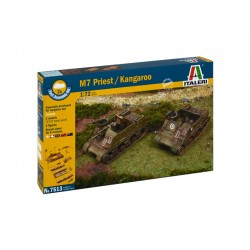 Italeri Easy Kit - M7 PRIEST / KANGAROO (1:72)