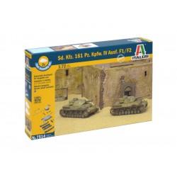 Italeri Easy Kit - Sd.Kfz.161 Pz.Kpfw.IV Ausf. F1/F2 (1:72)