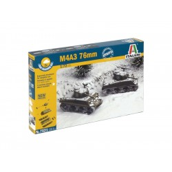 Italeri Easy Kit - M4A3 76mm (1:72)