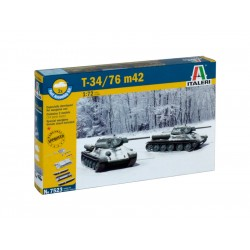Italeri Easy Kit - T34 / 76 m42 (1:72)