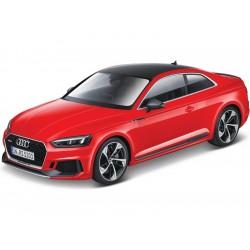 Bburago Audi RS 5 Coupe 1:24 červená