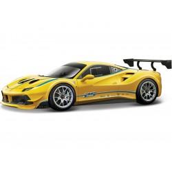 Bburago Ferrari 488 1:24 Challenge žlutá