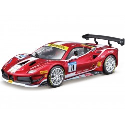Bburago Ferrari 488 Challenge 2017 1:24 červená