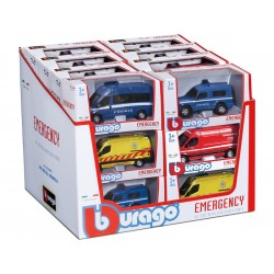Bburago auta Emergency 1:50 (sada 18ks)