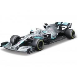 Bburago Mercedes W10 1:43 44 Hamilton