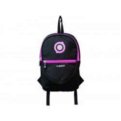 Globber - Junior batoh Black / Neon Pink