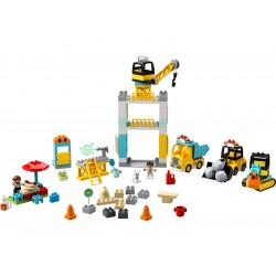 LEGO DUPLO - Stavba s věžovým jeřábem