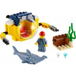 LEGO City - Oceánská mini ponorka