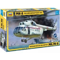 Zvezda Mil Mi-8 záchranářská verze (1:72)