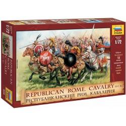 Zvezda figurky - Rep. Rome Cavalry III-I B. C....