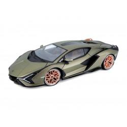 Bburago Lamborghini Sián FKP 37 1:18 zelená metalíza