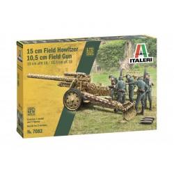 Italeri 15 cm Field Howitzer / 10,5 cm Field Gun (1:72)