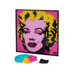 LEGO Art 2020 - Andy Warhol's Marilyn Monroe