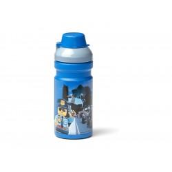 LEGO láhev na pití 0.35L - City modrá