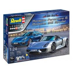 Revell Porsche Set (1:24) (giftset)