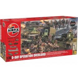 Airfix D-Day Operace Overlord 75. výročí (1:76) (Giftset)