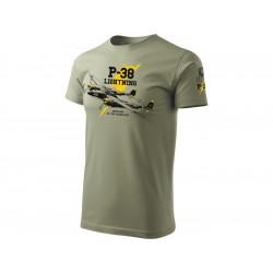 Antonio pánské tričko P-38 Lightning XL