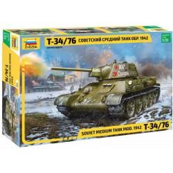 Zvezda T-34/76 mod.1942 (1:35)