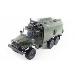 URAL 6x6 proporcionální vojenský truck 1:16 RTR