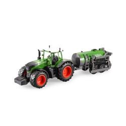 FARM TRAKTOR FENDT s funkční kropící cisternou 1:16, 2.4...