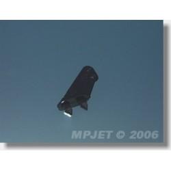 2203 Páka micro typ 2, otvor pr.1mm Černá 2 ks