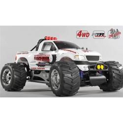 FG Stadium Truck WB 535, 4WD, RTR, bílá karoserie