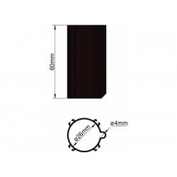 Klima Základna 26mm 4-stabilizátory černá