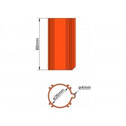 Klima Základna 26mm 4-stabilizátory oranžová
