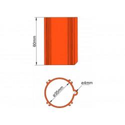 Klima Základna 35mm 4-stabilizátory oranžová