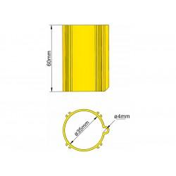 Klima Základna 35mm 4-stabilizátory žlutá