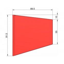 Klima Stabilizátor typ lichoběžník červený