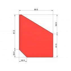 Klima Stabilizátor typ šipka červený