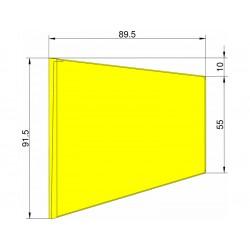 Klima Stabilizátor typ lichoběžník žlutý