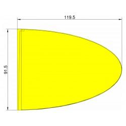 Klima Stabilizátor typ elipsa žlutý
