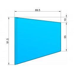 Klima Stabilizátor typ lichoběžník modrý