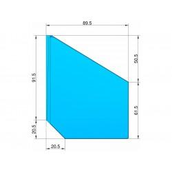 Klima Stabilizátor typ šipka modrý