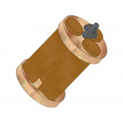 Klima Držák motoru 50mm / 3x 18mm