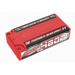 Sport Racing 50C LiPo Shorty Hardcase-4800mAh-7.4V-4mm...