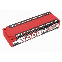 Sport Racing 50C LiPo Stick Hardcase-6000mAh-7.4V-4mm...