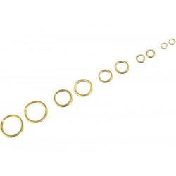 Krick kroužek mosaz 3mm (cca 100)